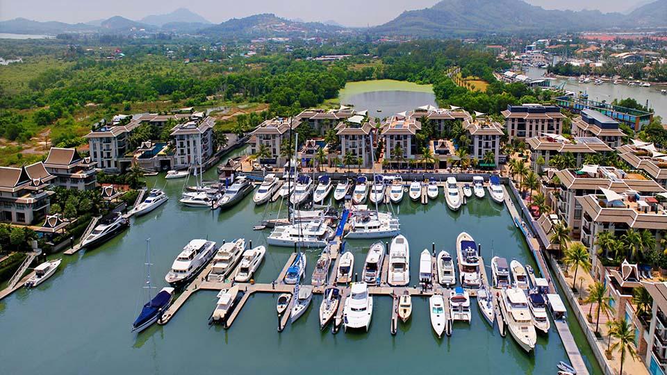 The Royal Phuket Marina Boat Show in Phuket