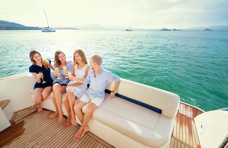 Social Boating at The Thailand International Boat Show in Phuket