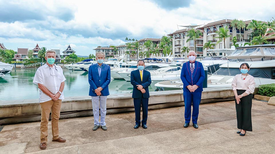 Phuket Governor shows support for the Thailand International Boat Show